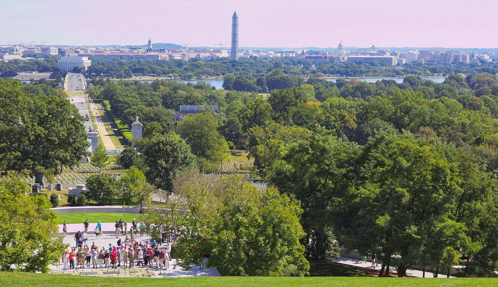 El National Mall, desde Arlington House