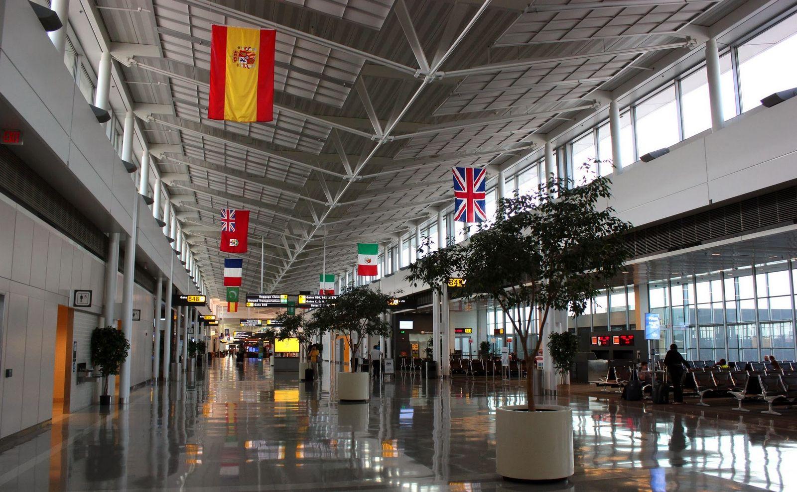 La terminal satélite de Dulles