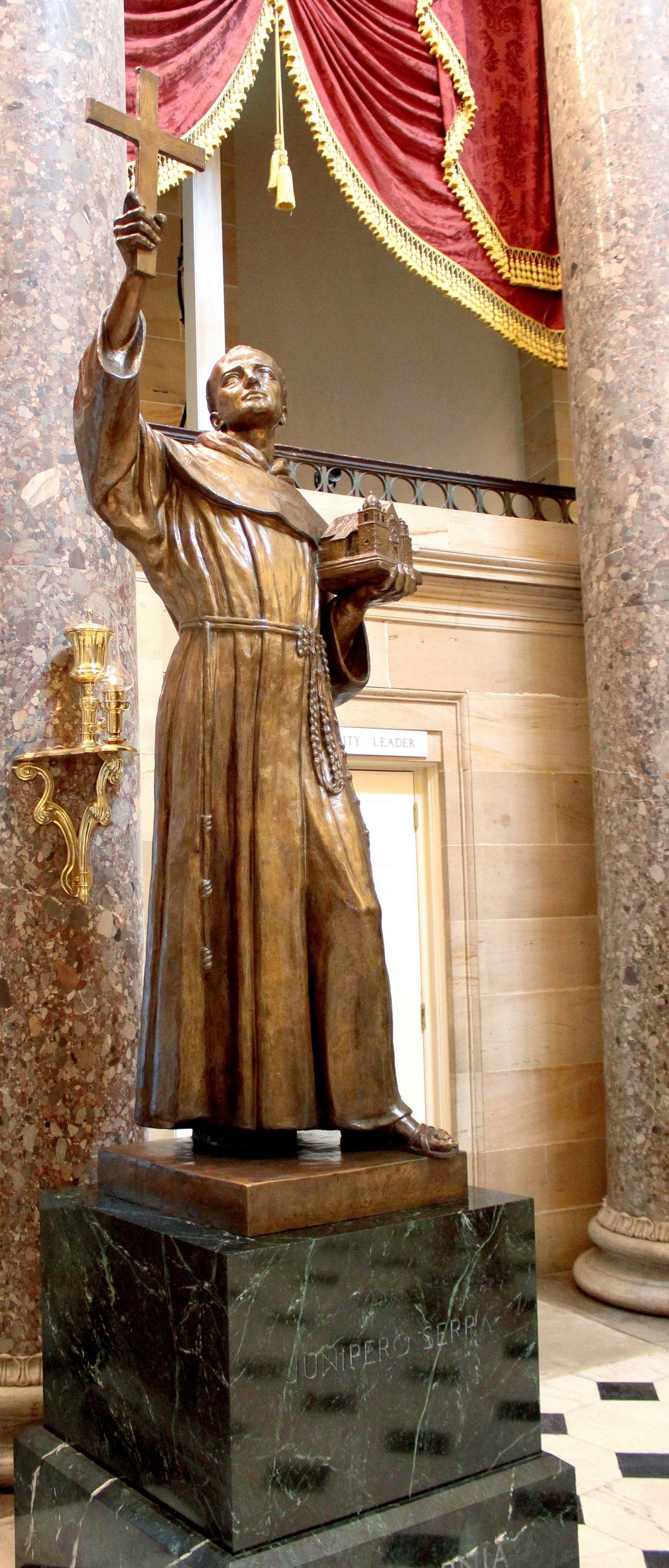 Junípero, un mallorquín en el Capitolio