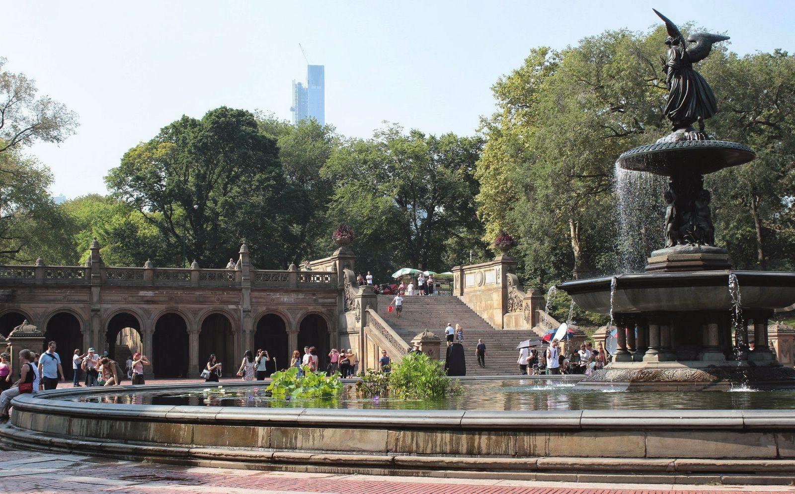 Bethesda es de los lugares más concurridos de Central Park