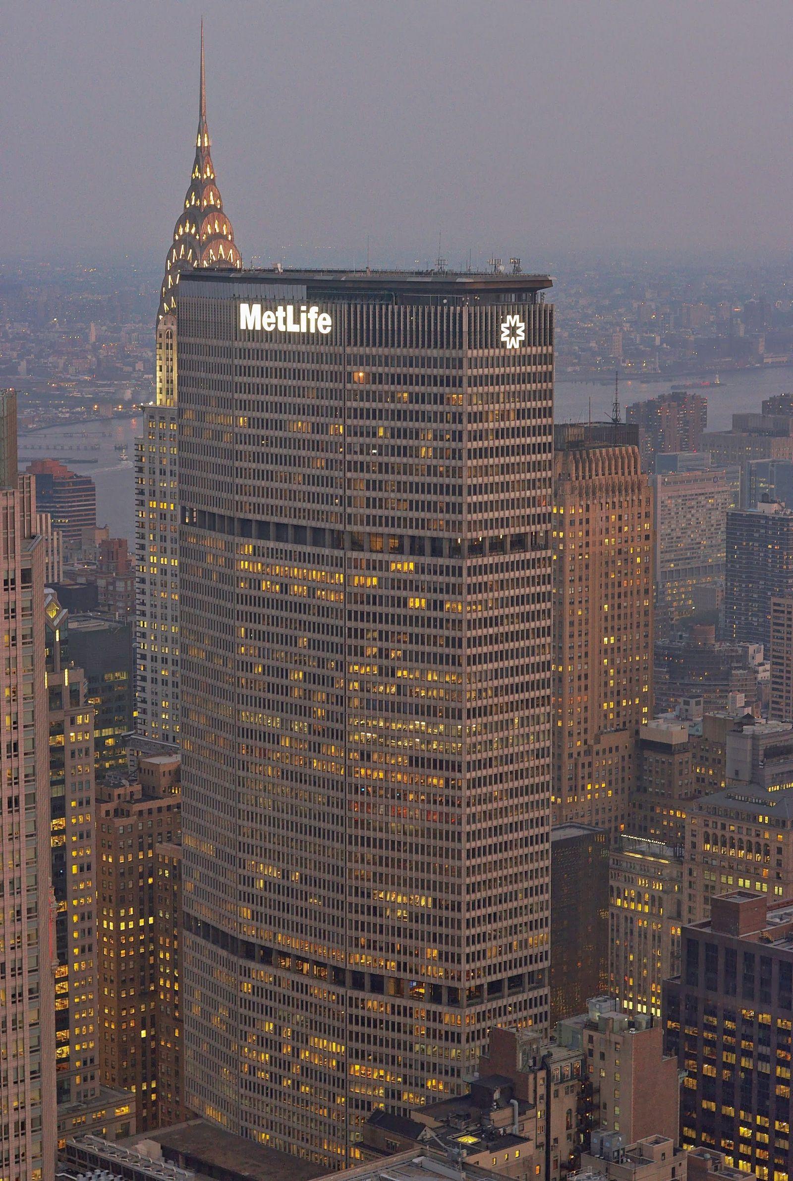 Metlife & Chrysler Buildings