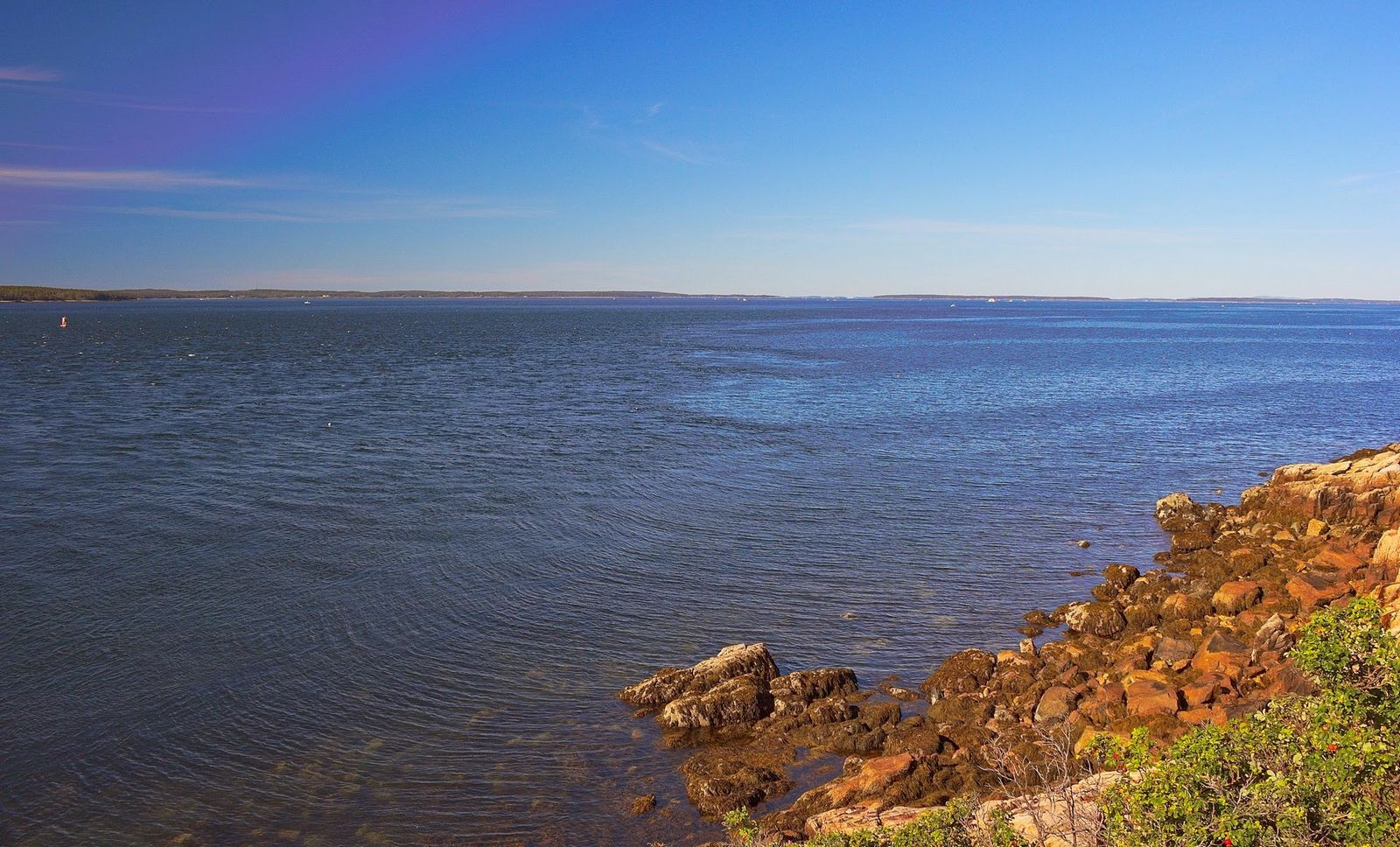 Vistas desde Bass Harbor, un Finisterre norteamericano