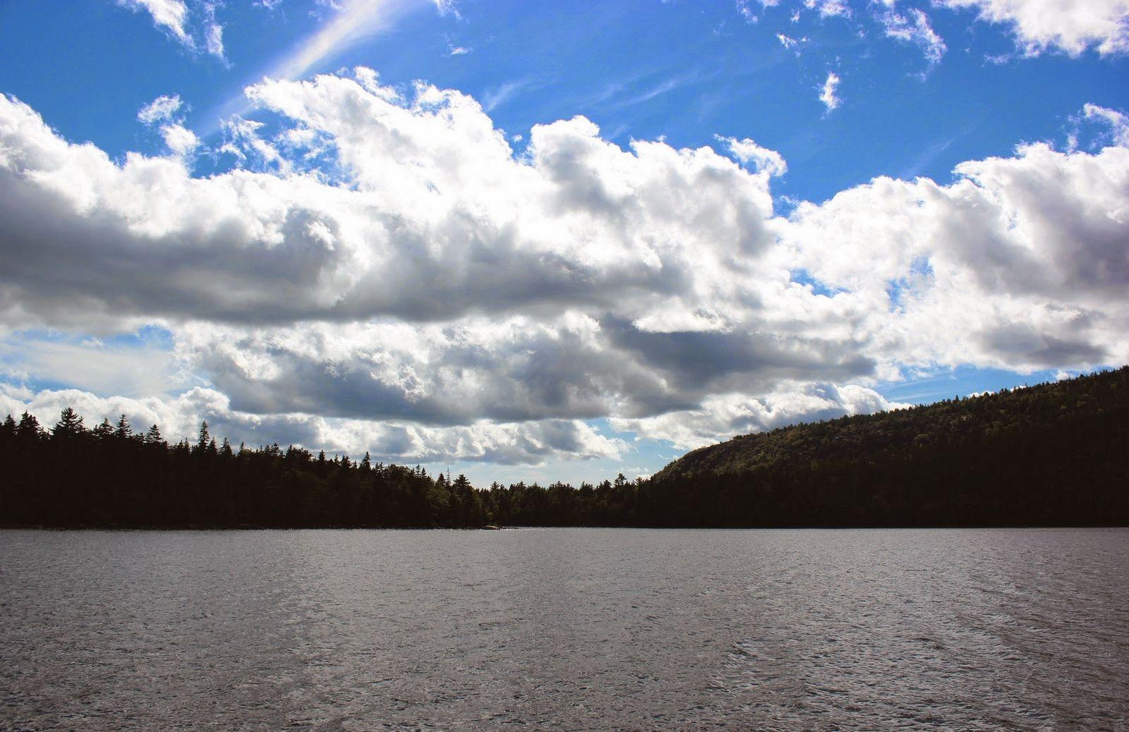 La luz y las nubes acompañan a la excursión de hoy
