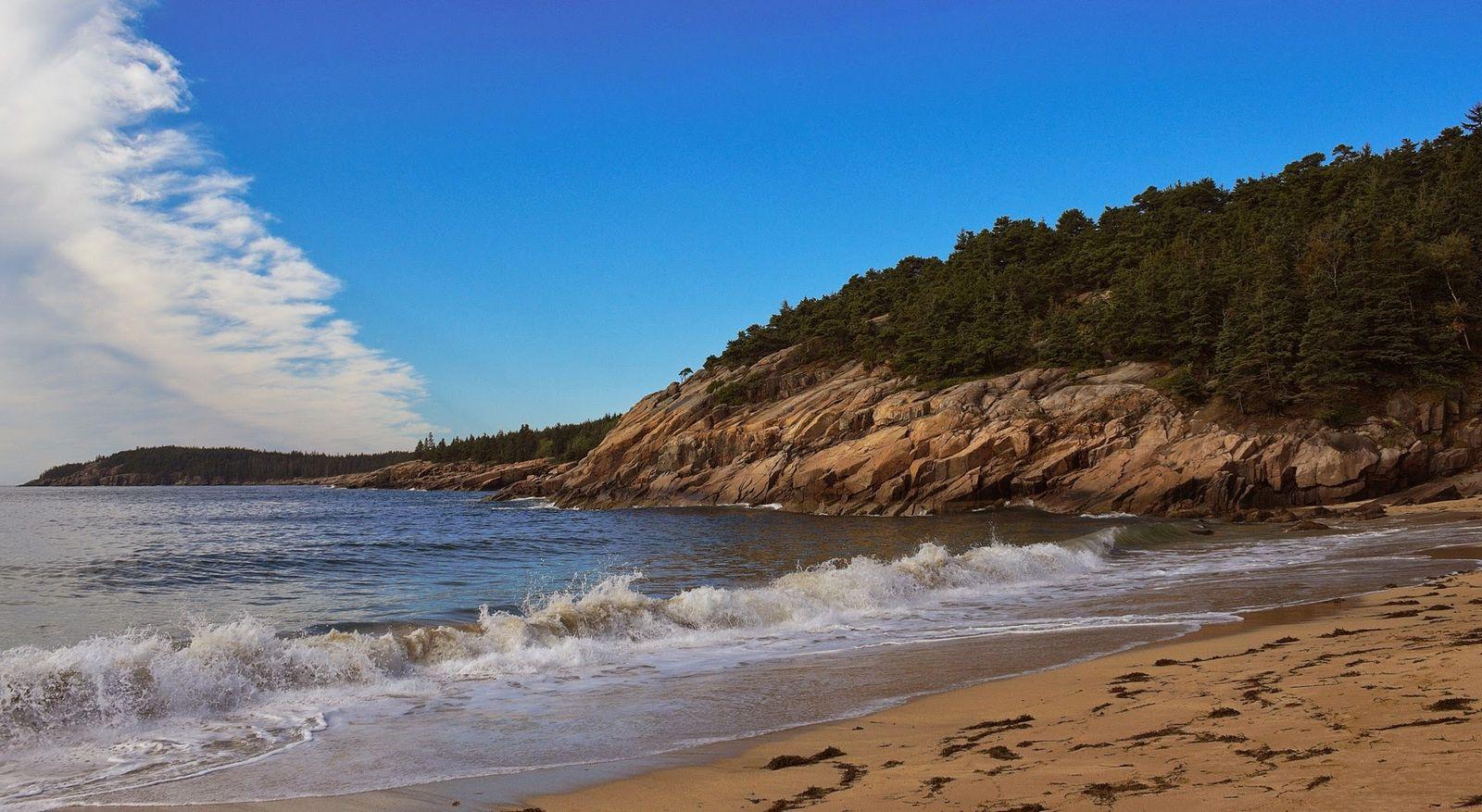 Sand Beach, zona de baño solo para valientes