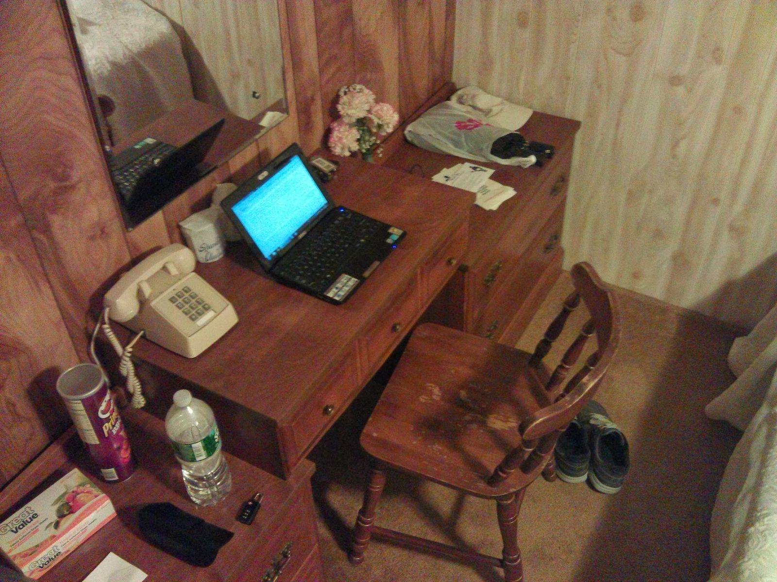Cambiemos portátil por máquina de escribir, y ya estoy listo para una novela de terror