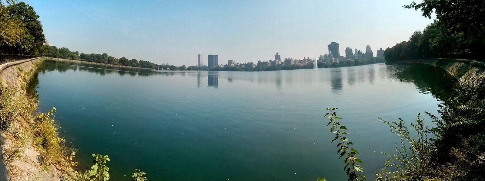 Panorámica del Jackie O. Reservoir