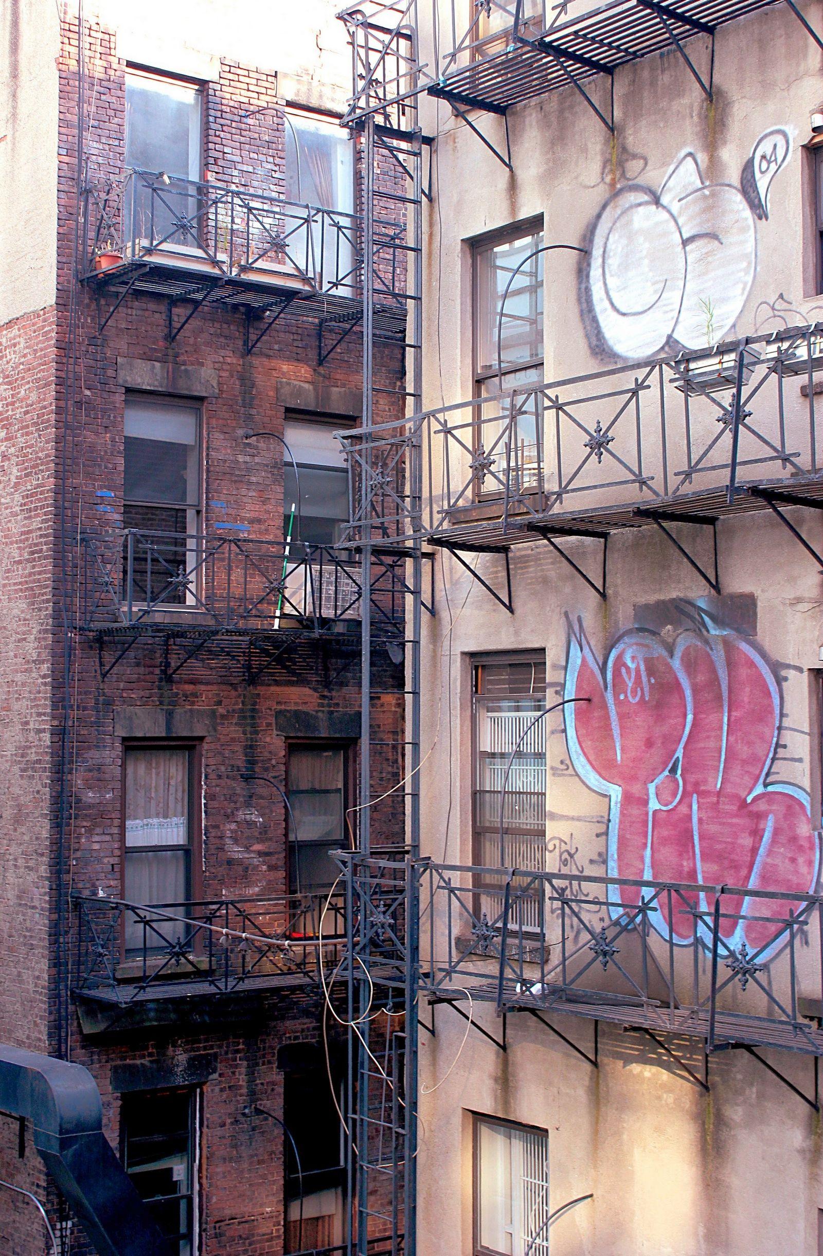 Manhattan envejece