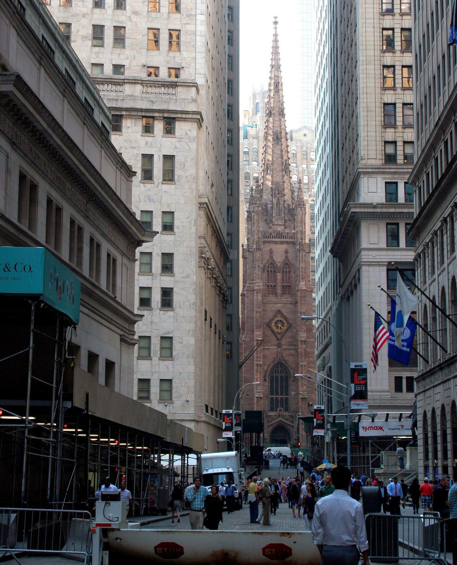Trinity Church, cuando los agentes de bolsa van a rezar