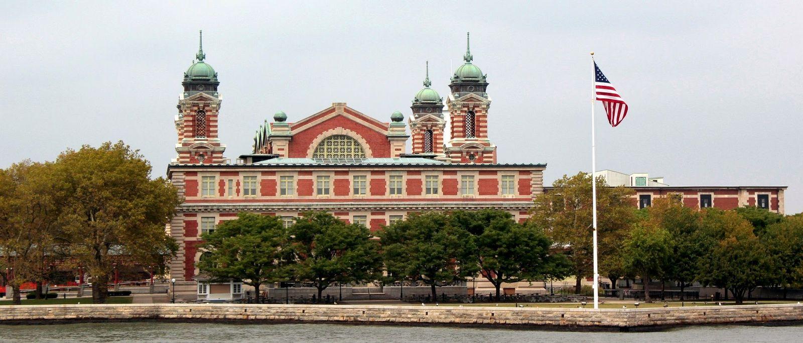 Ellis Island, la antigua puerta de acceso para inmigrantes