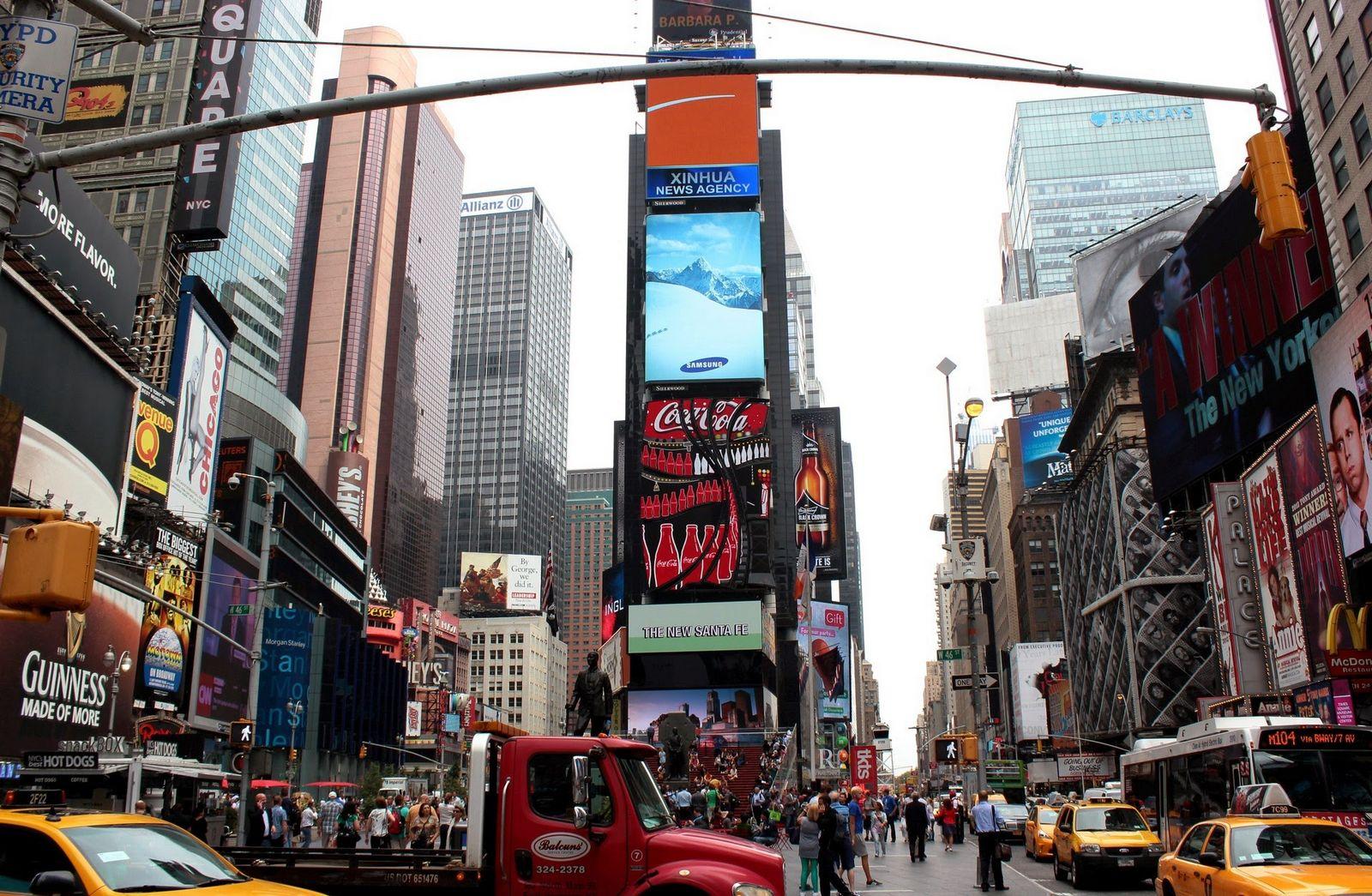 El anuncio de Coca-Cola, otra seña de Times Square