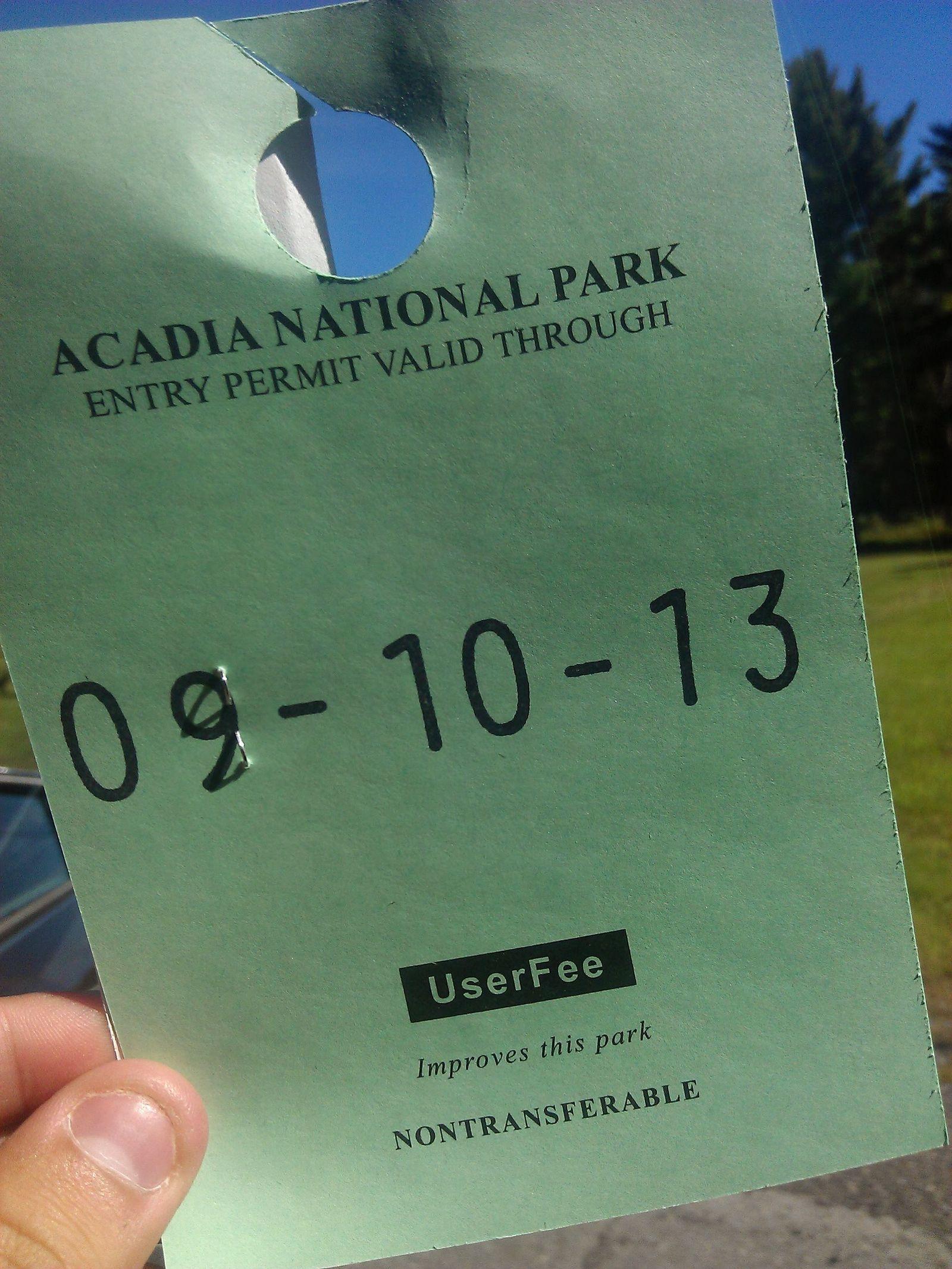 Hasta la próxima, Acadia
