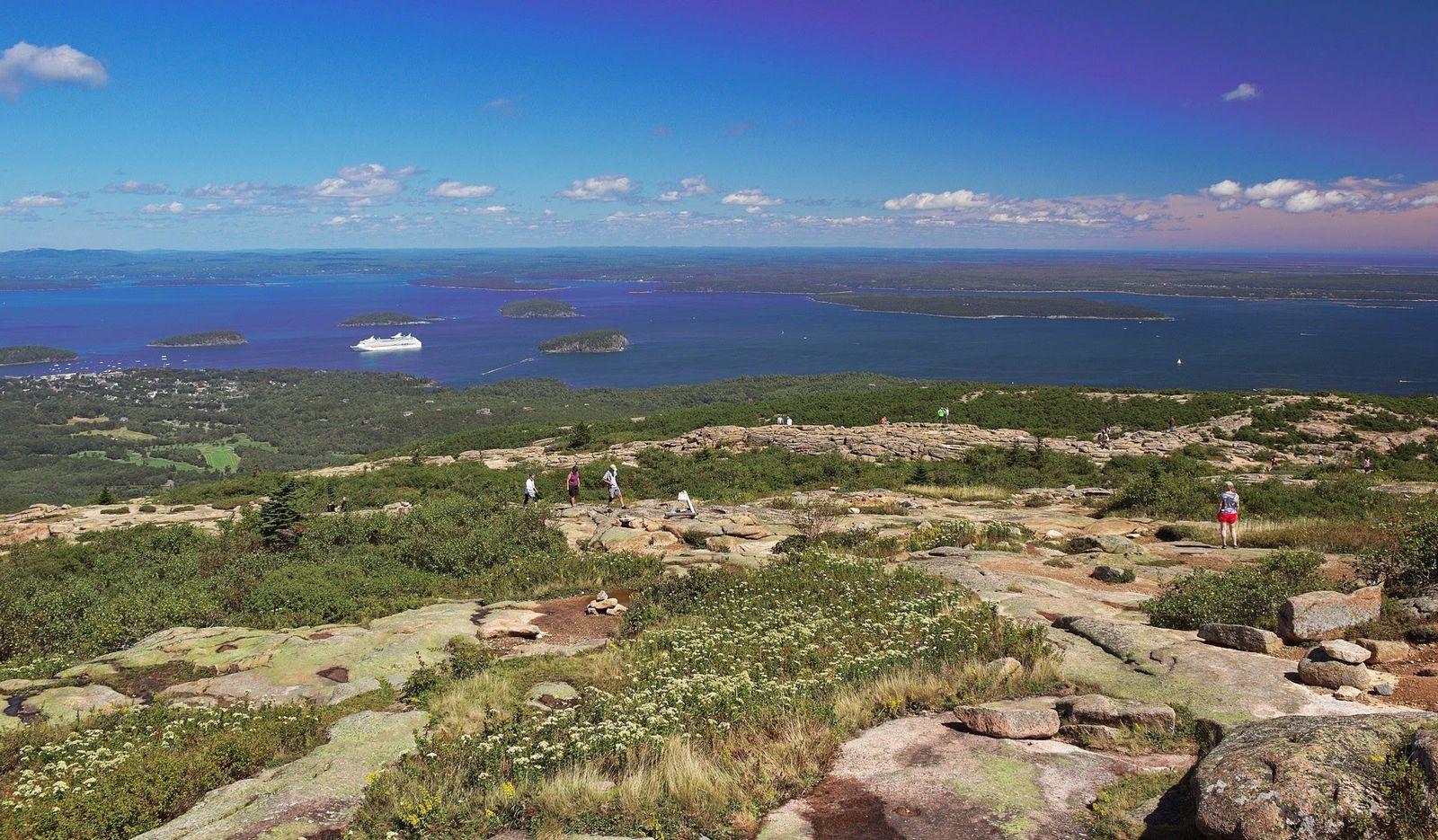 Cadillac Mountain, las mejores vistas de Acadia