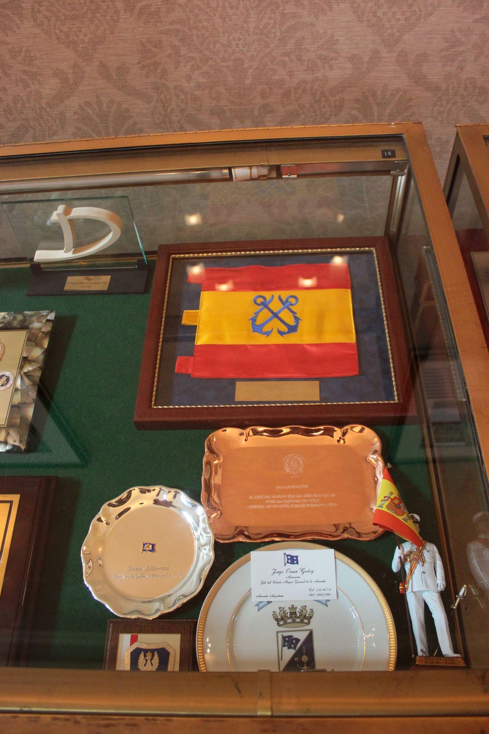 Obsequios de las visitas del Gobierno Español a Arlington