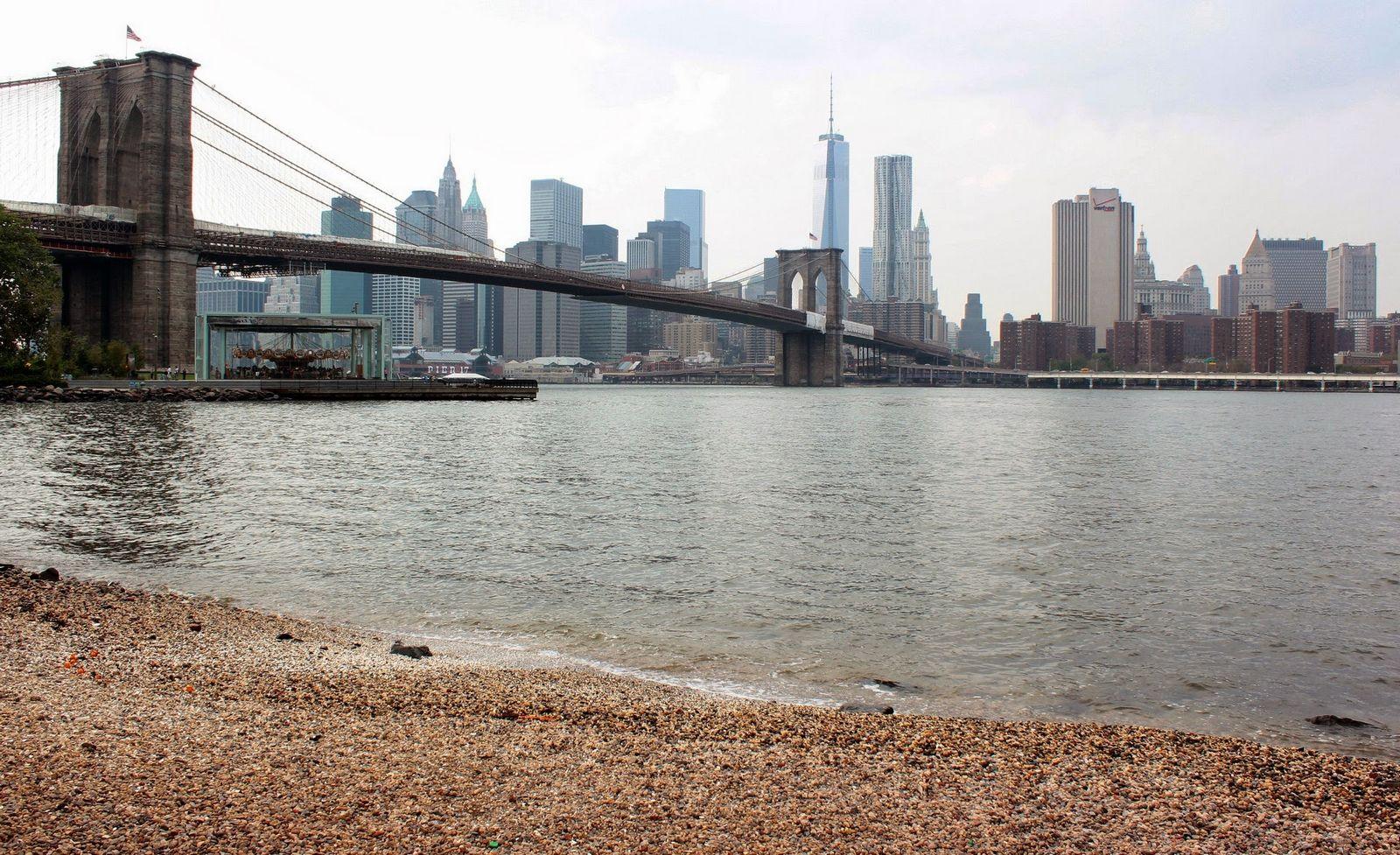 De vuelta en Brooklyn Bridge Park