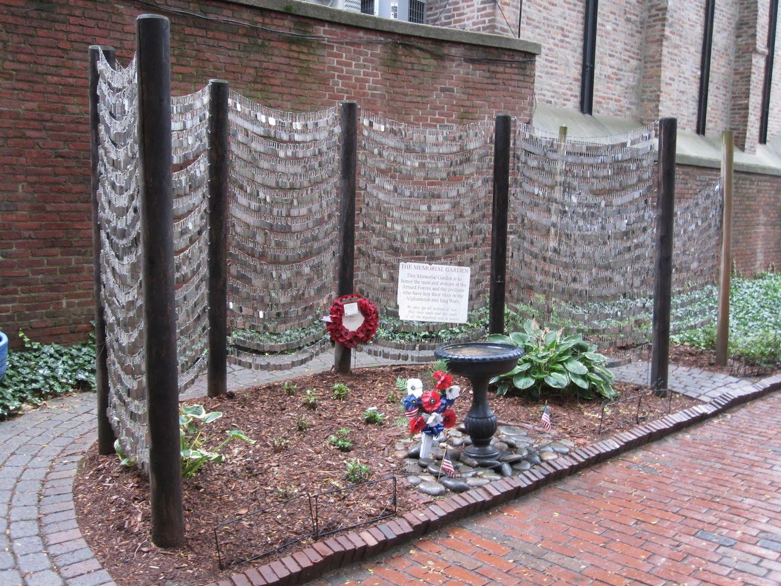 En memoria de los soldados caídos en Iraq y Afganistán
