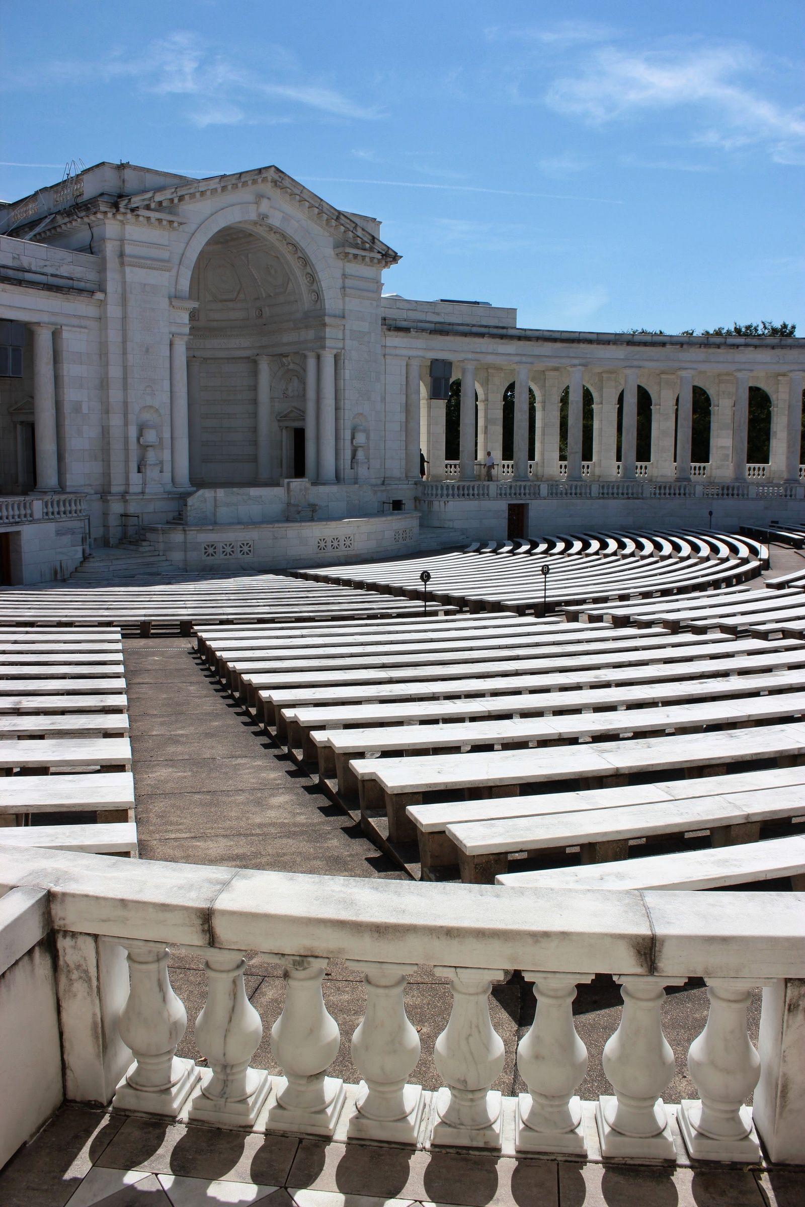 Memorial Amphiteater, escenario de ceremonias