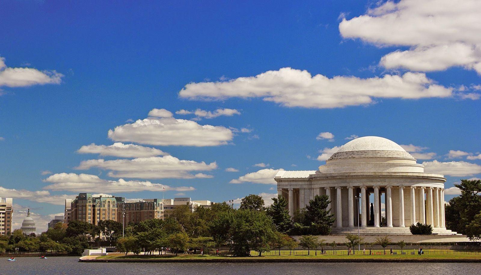 Jefferson nunca perdió de vista el Capitolio