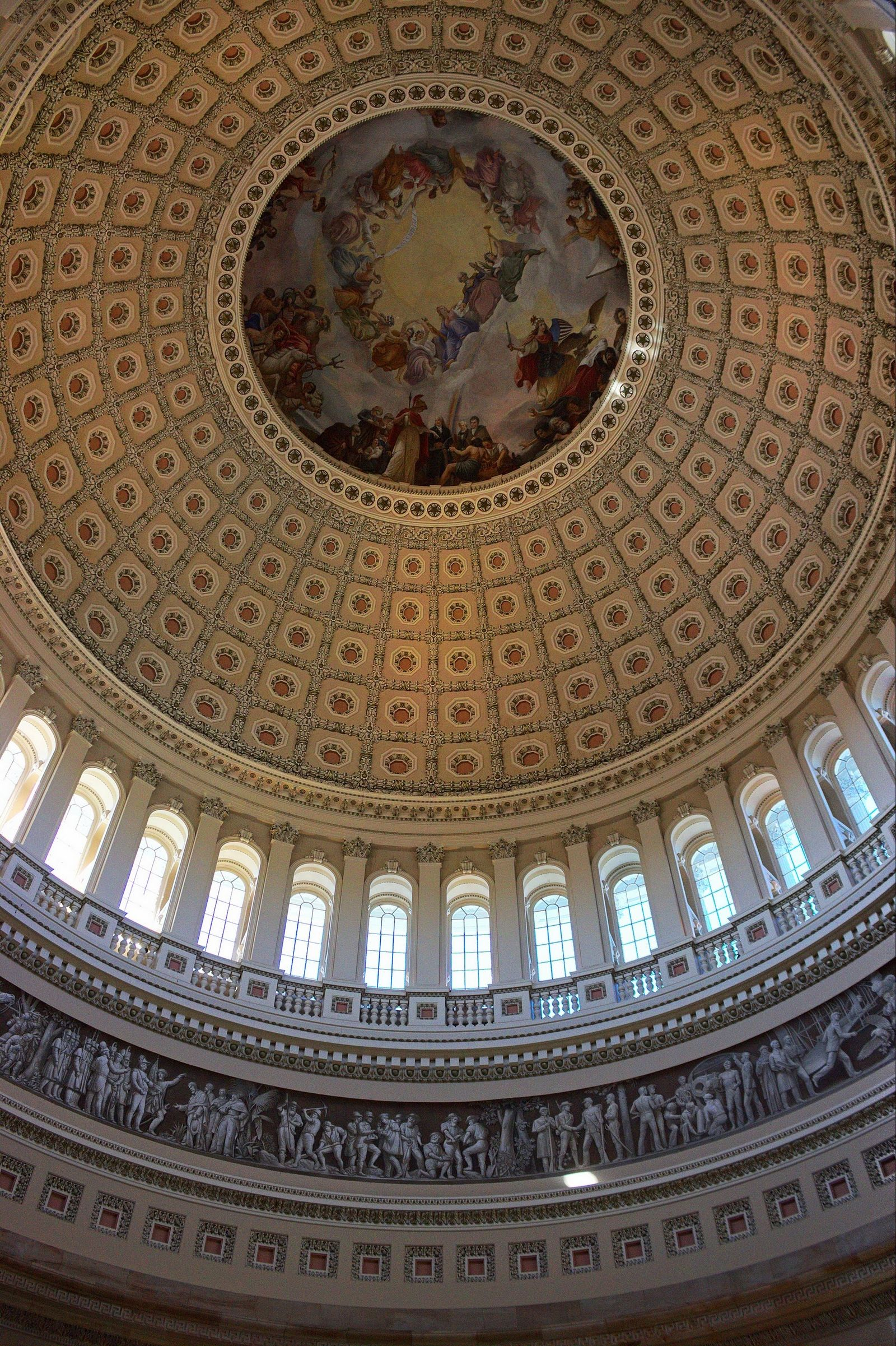 La joya de la corona: el interior de la cúpula