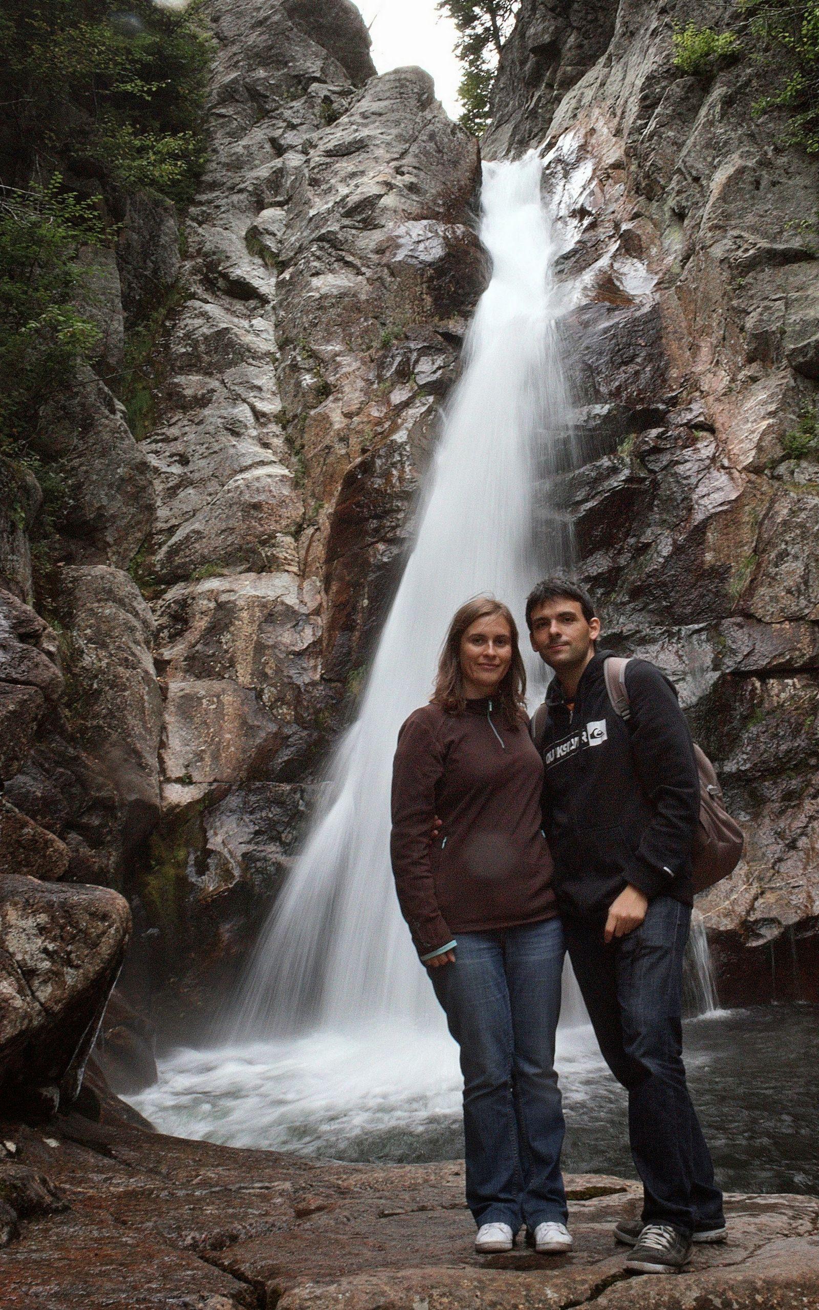 Glen Ellis Falls, o como tener una cascada para nosotros solos