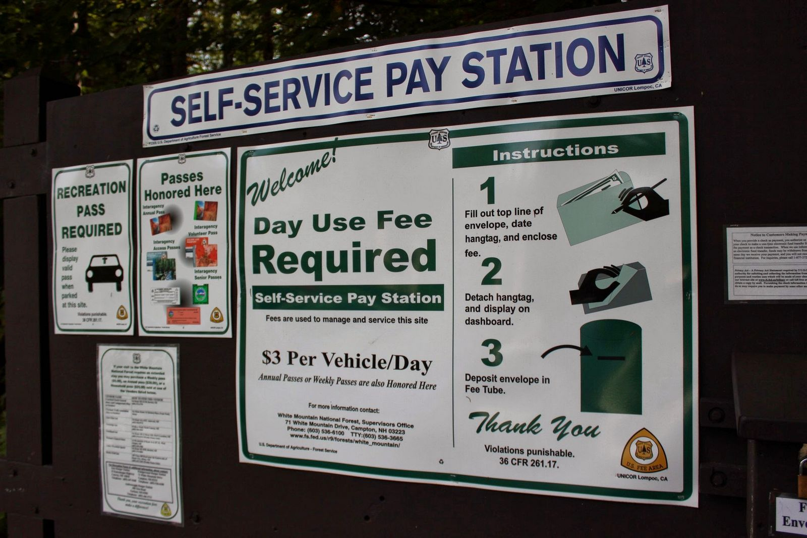 Recortando de los rangers para pagar el aparcamiento