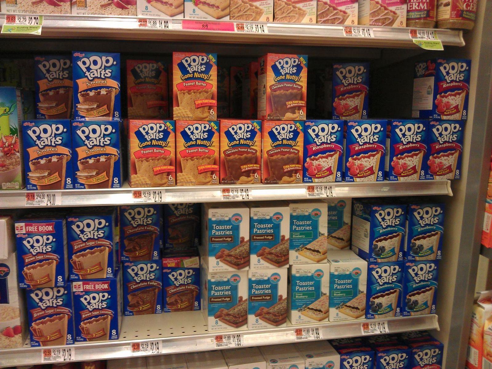Hasta en el menor de los supermercados la tentación es constante