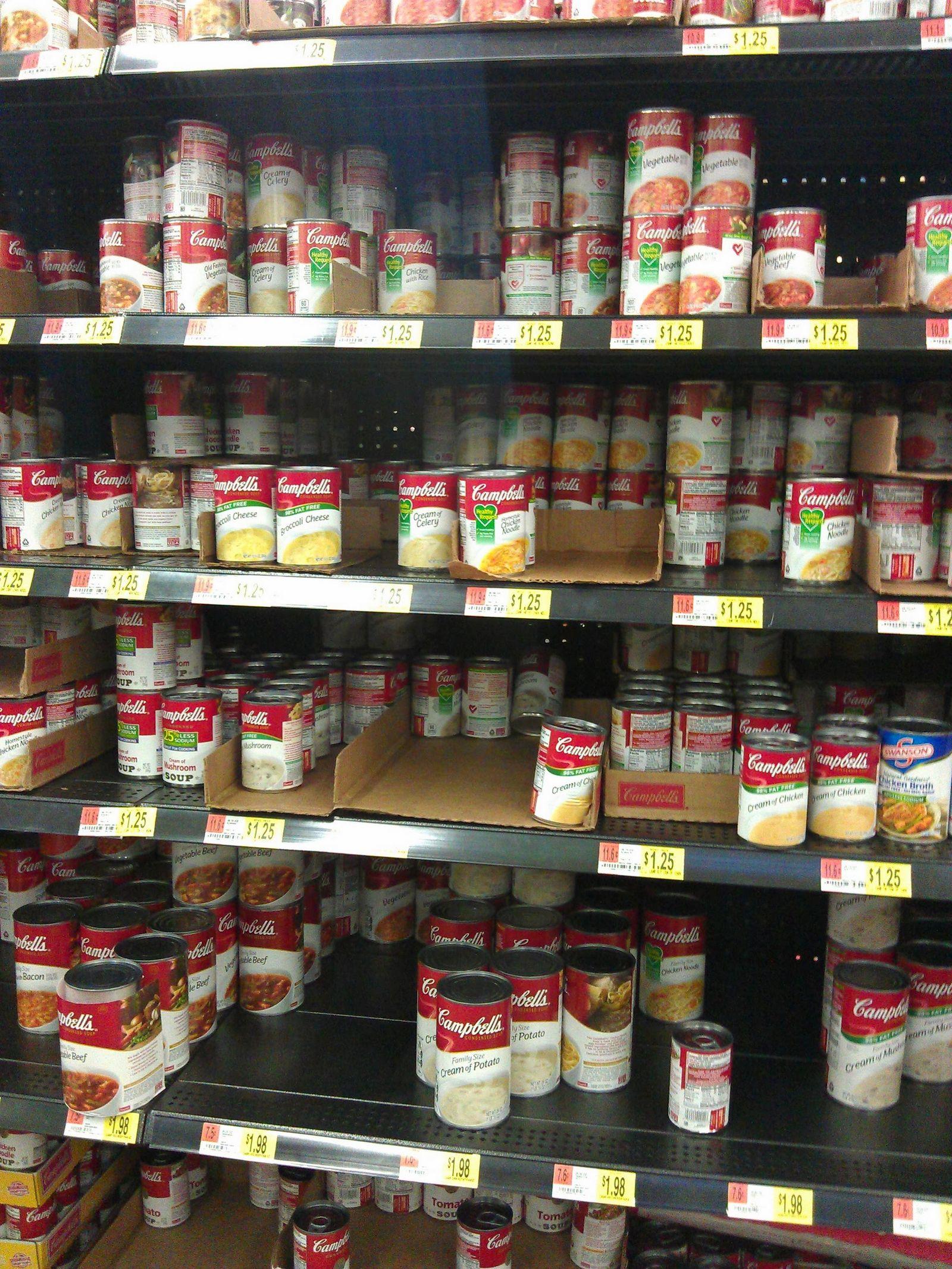 Por fortuna, no solo de sopa de tomate vive Campbell's