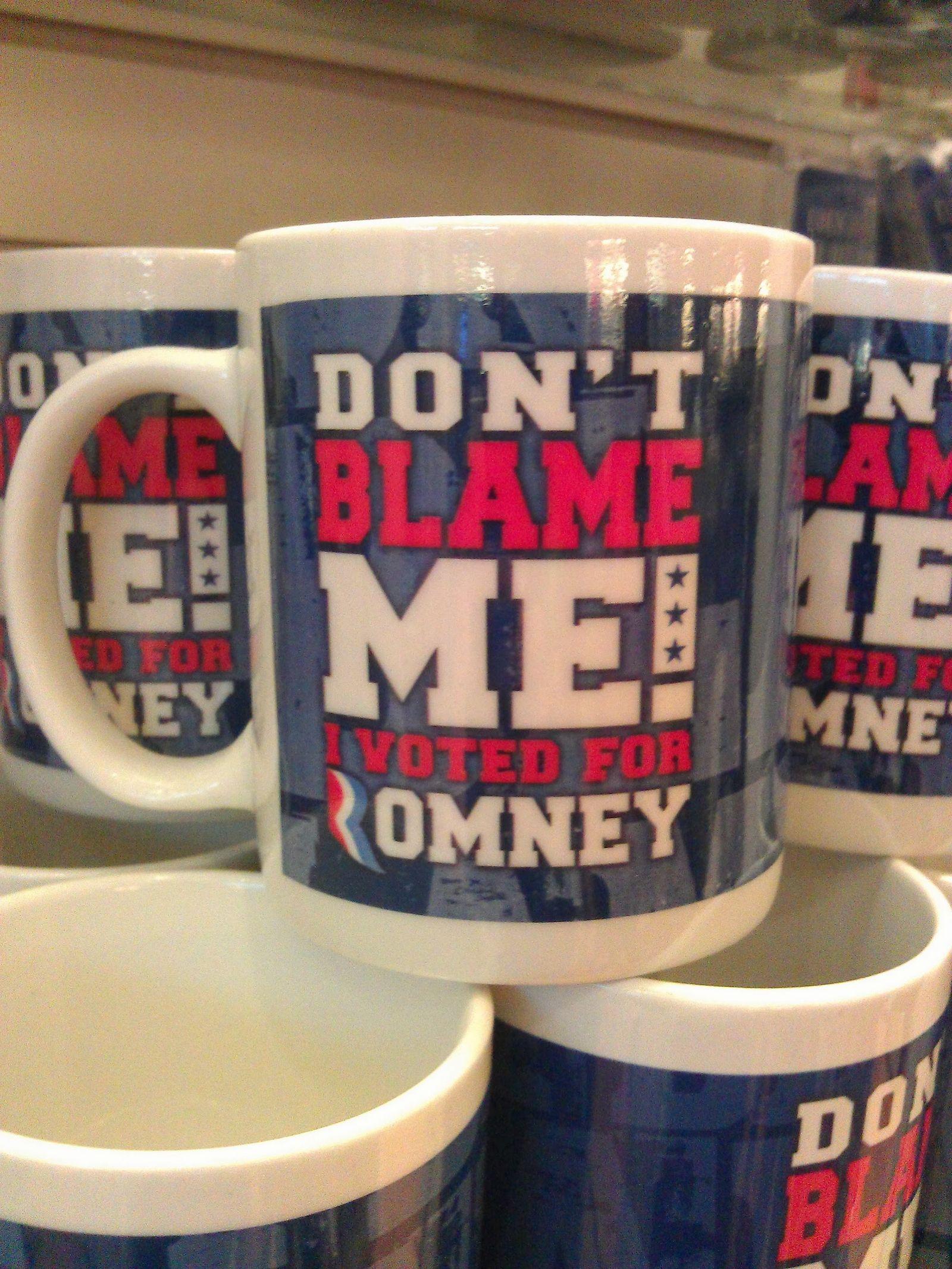 ¡No me culpes! Yo voté a Romney