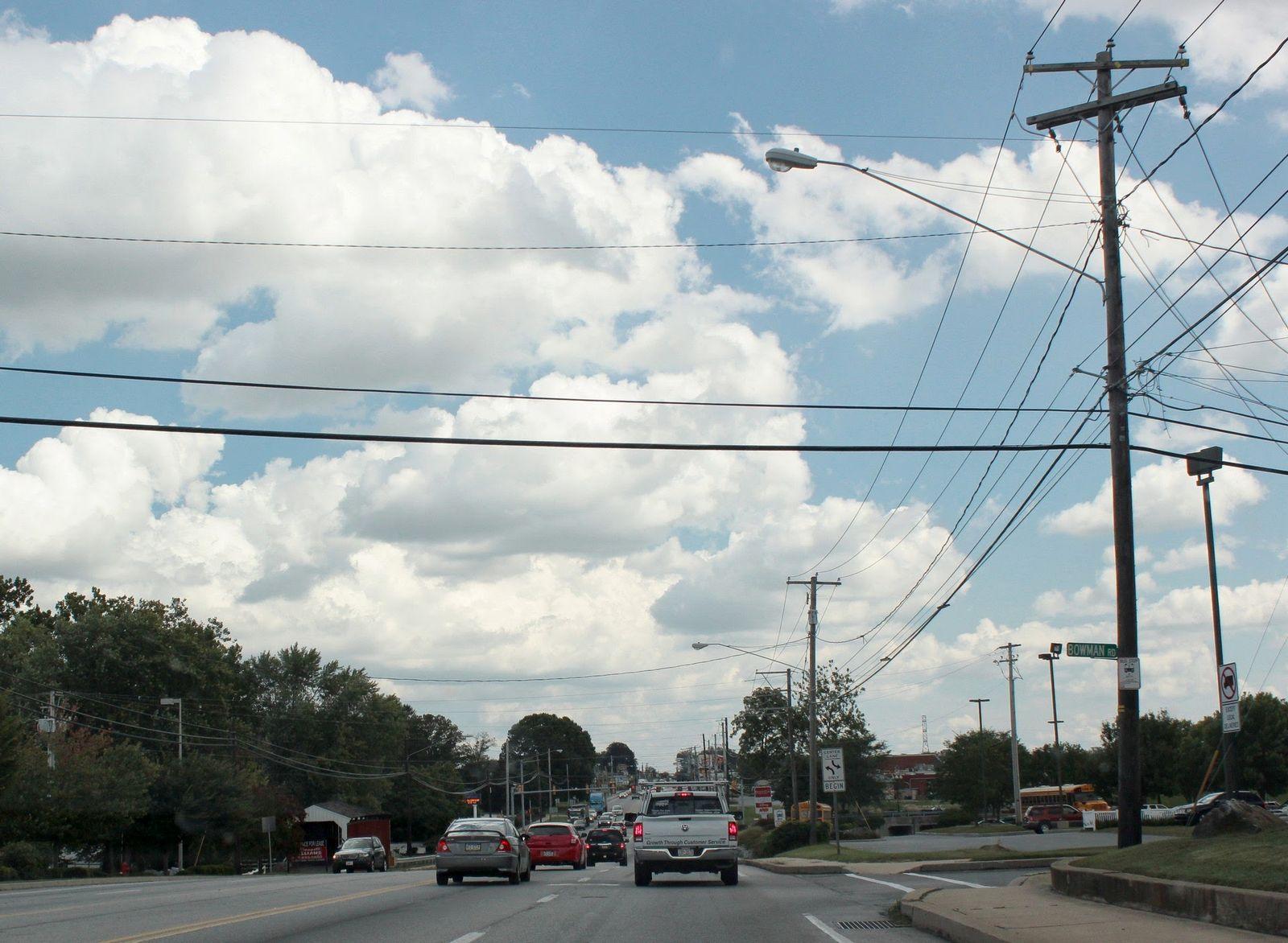 La carretera 30, arteria principal de la zona