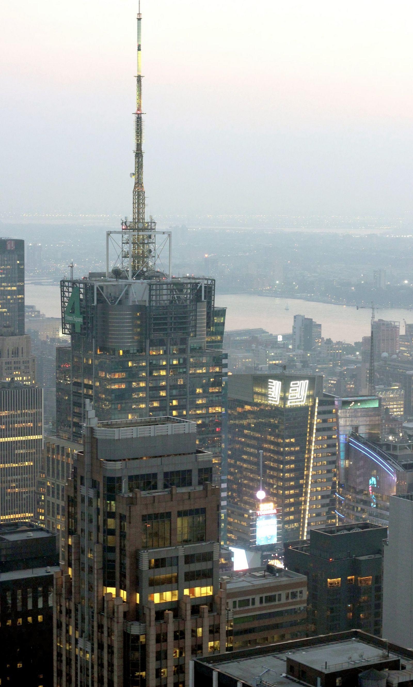 Channel 4 y el resplandor de Times Square