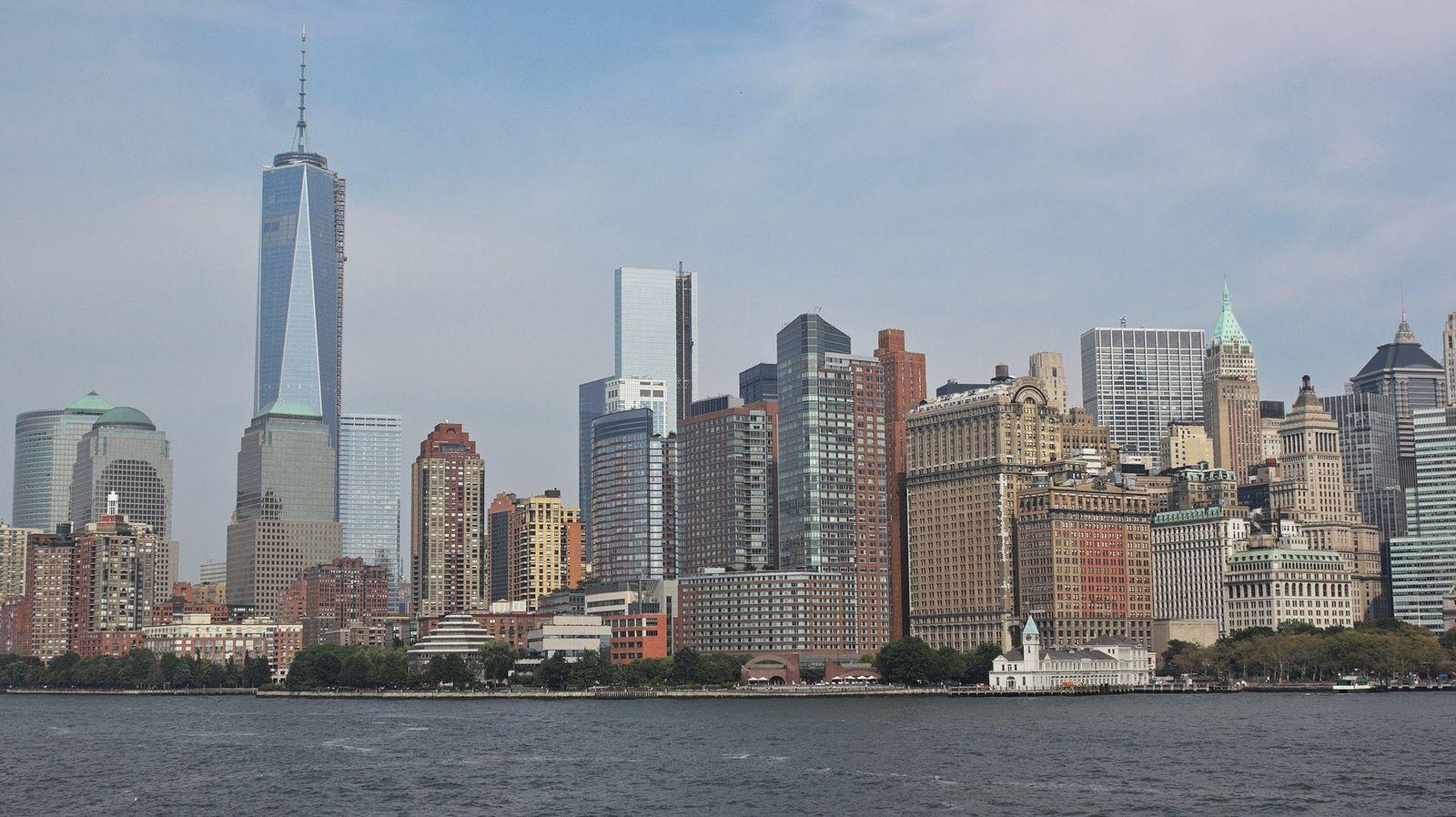 El One World Trade Center y sus hermanos mayores