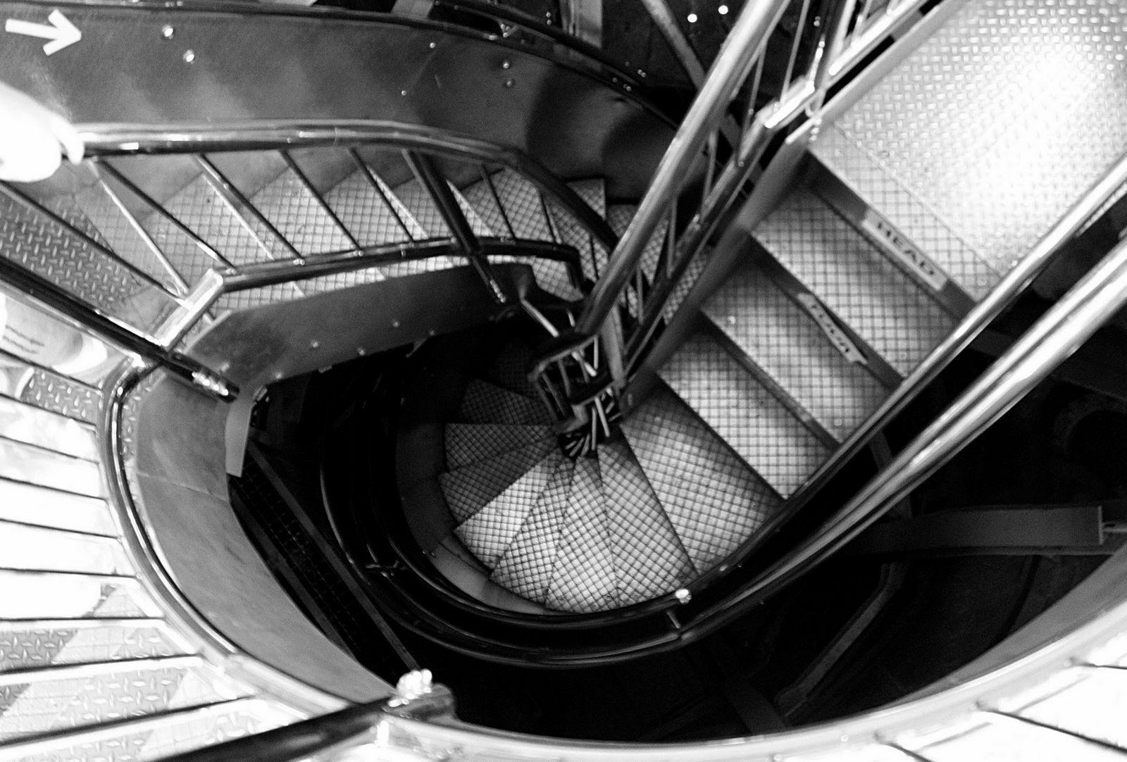 El último tramo de escaleras