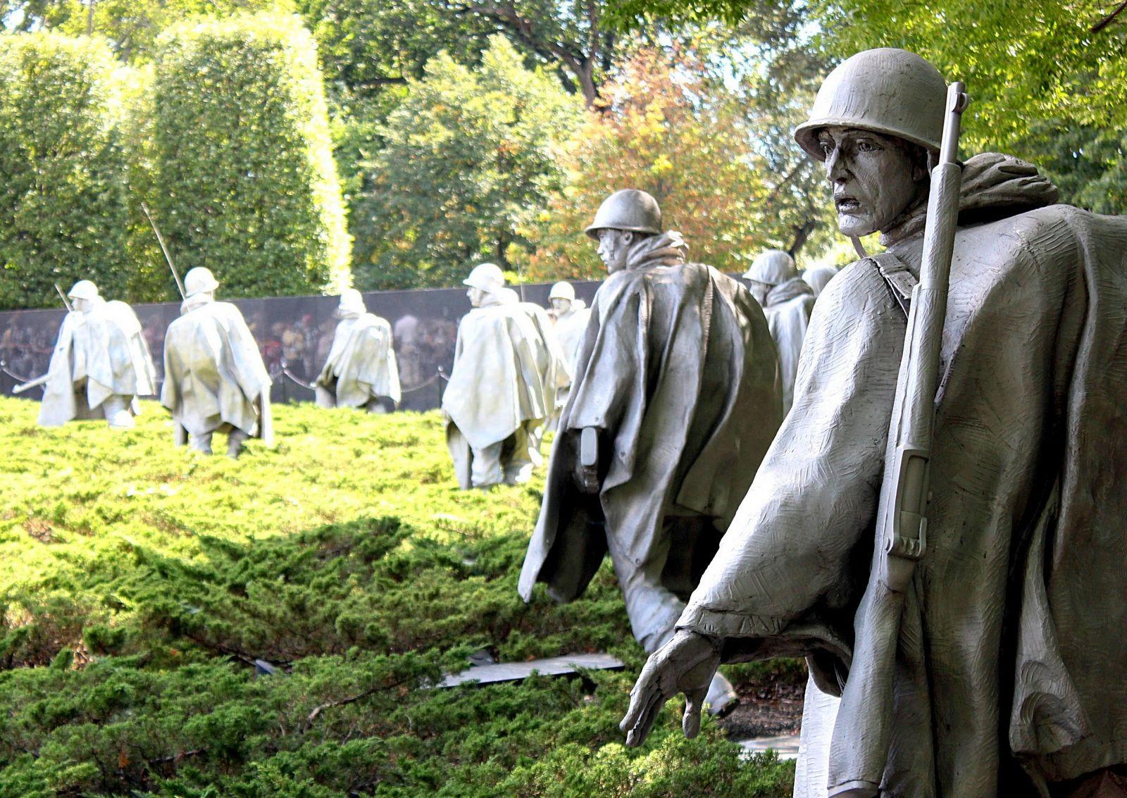 Soldados en Corea