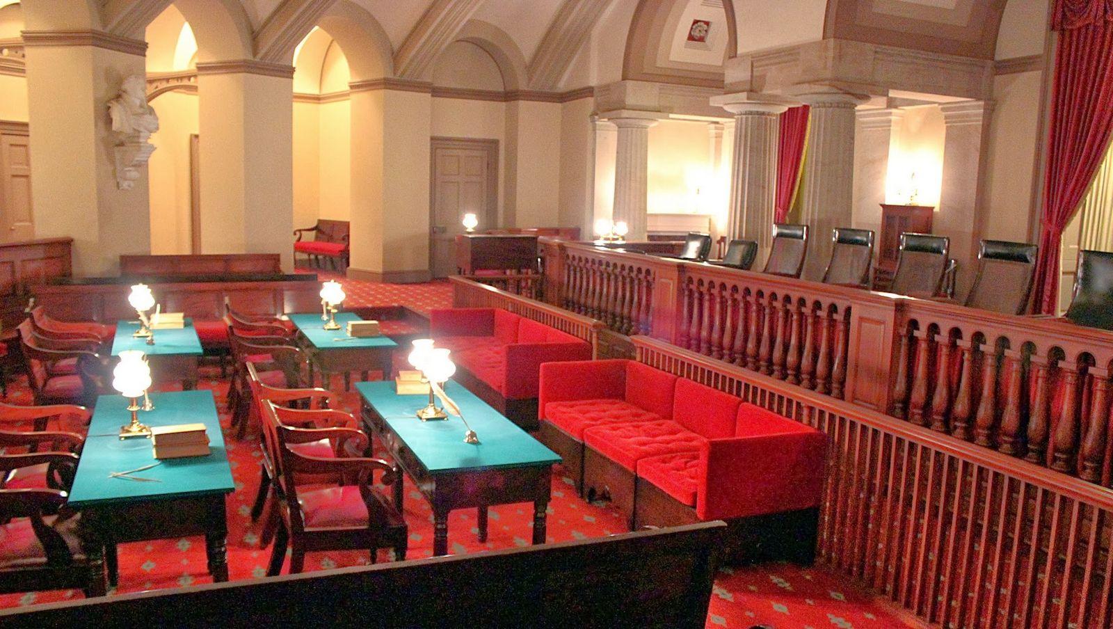 La vieja cámara del Tribunal Supremo