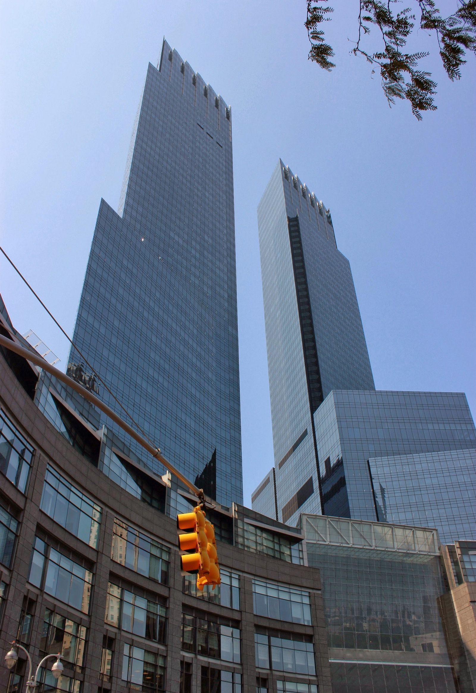 Time Warner Center, desde fuera