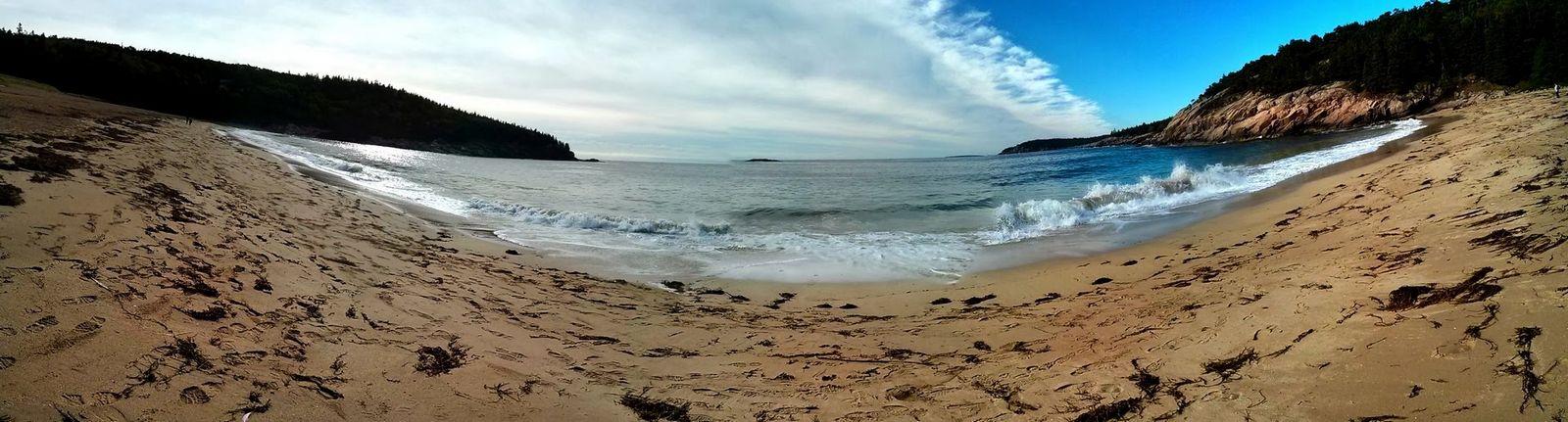 Sand Beach de extremo a extremo