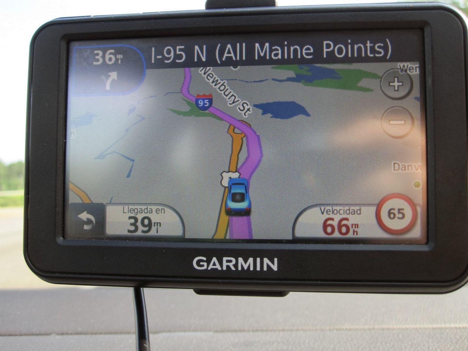 Primeras millas, ¡rumbo a Maine!