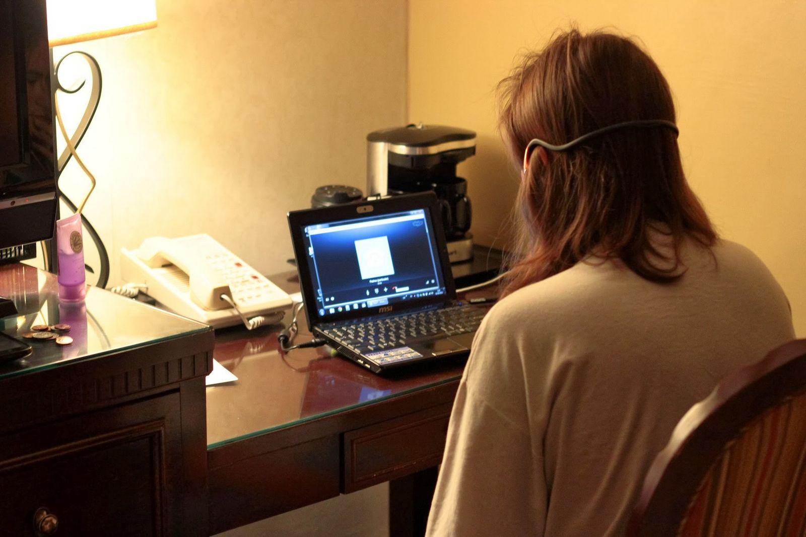 Empezando el día con un poco de Skype