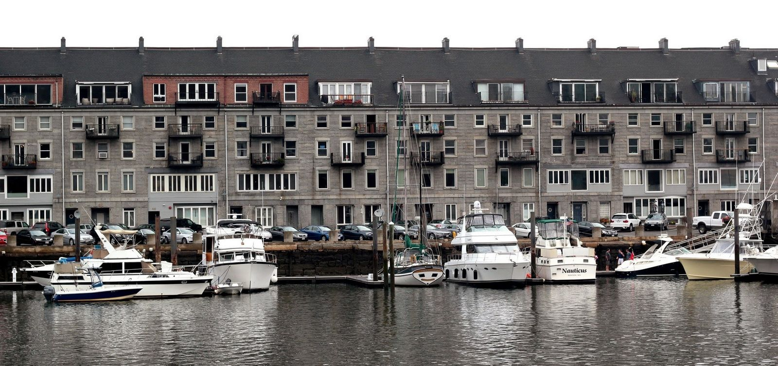 Fachadas del embarcadero de Long Wharf