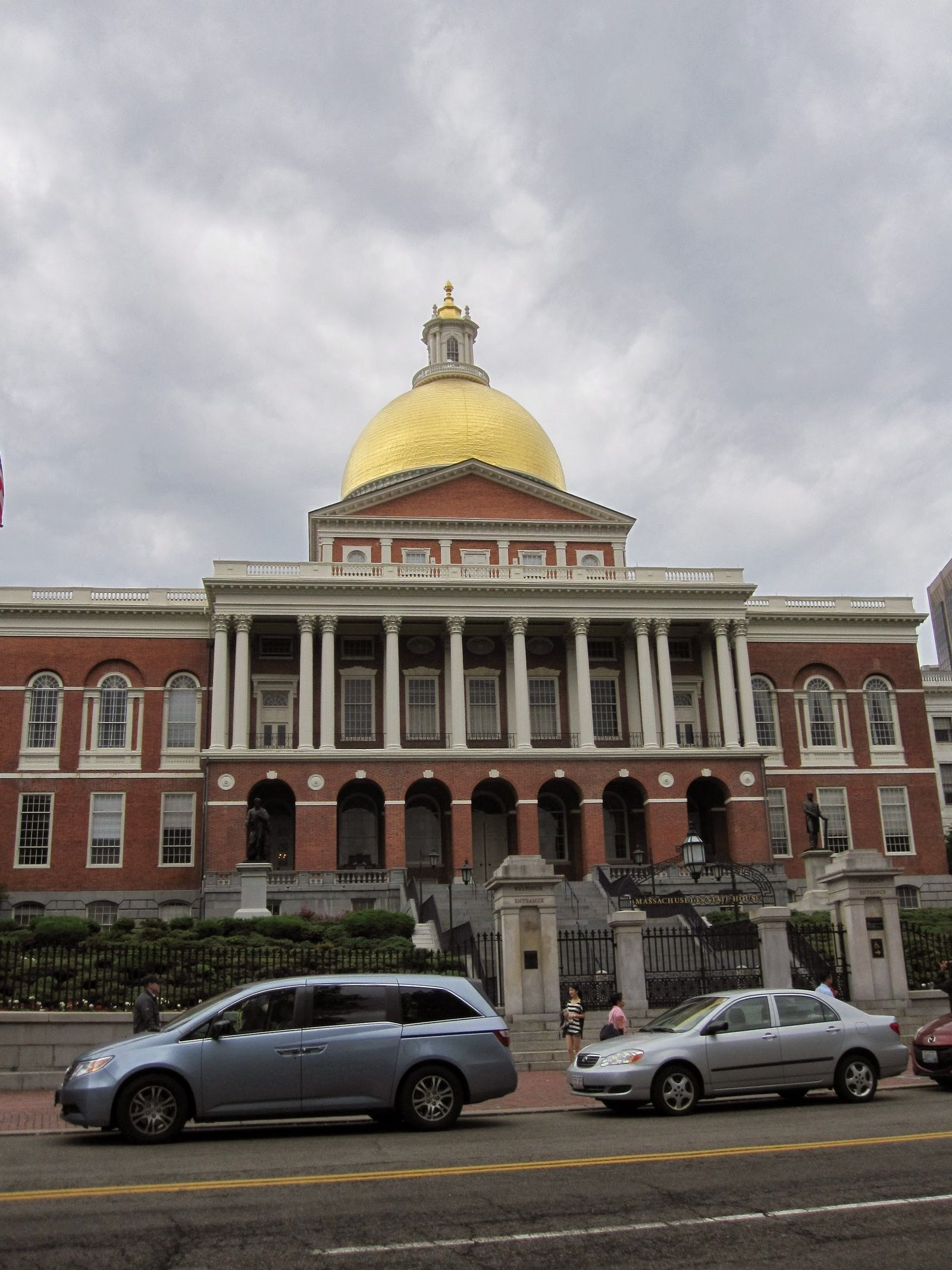 Massachusetts State House, toma 1