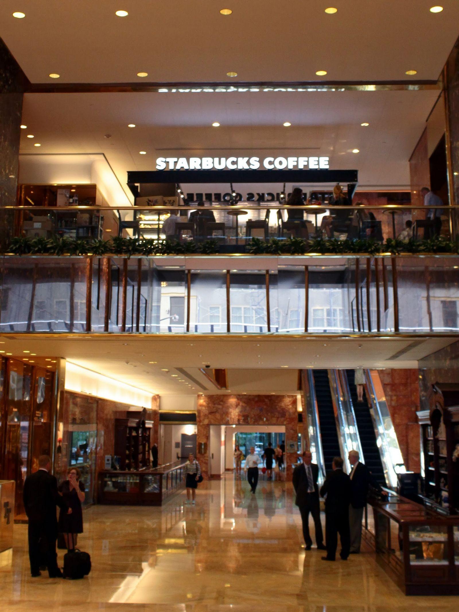 El Starbucks más pijo conocido