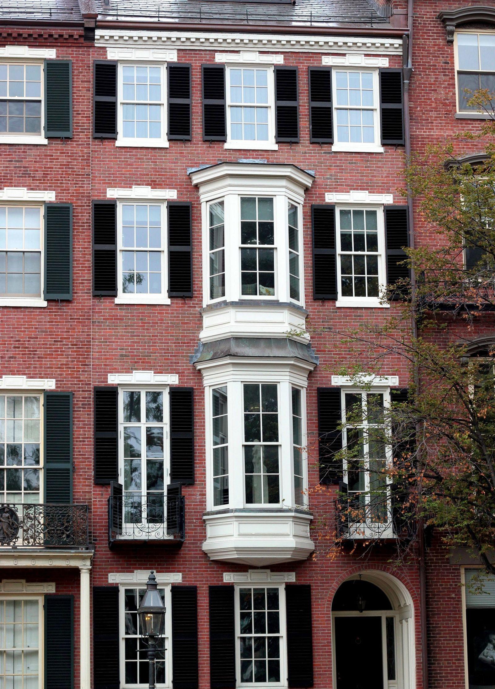 Las resultonas fachadas de Beacon Hill