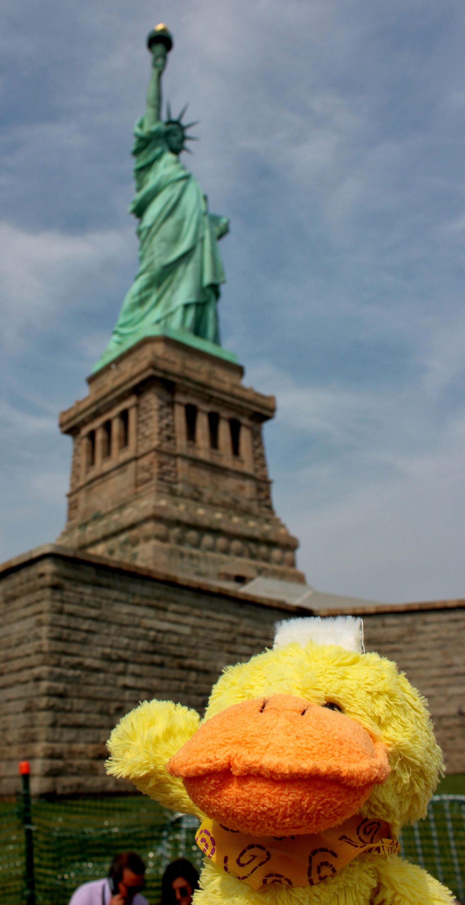 El pato de la libertad