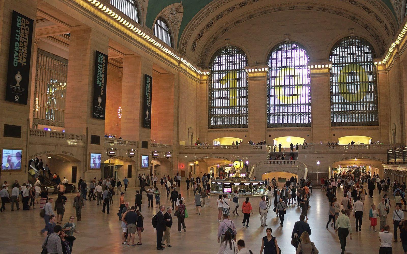La Grand Central Station celebrando sus 100 años