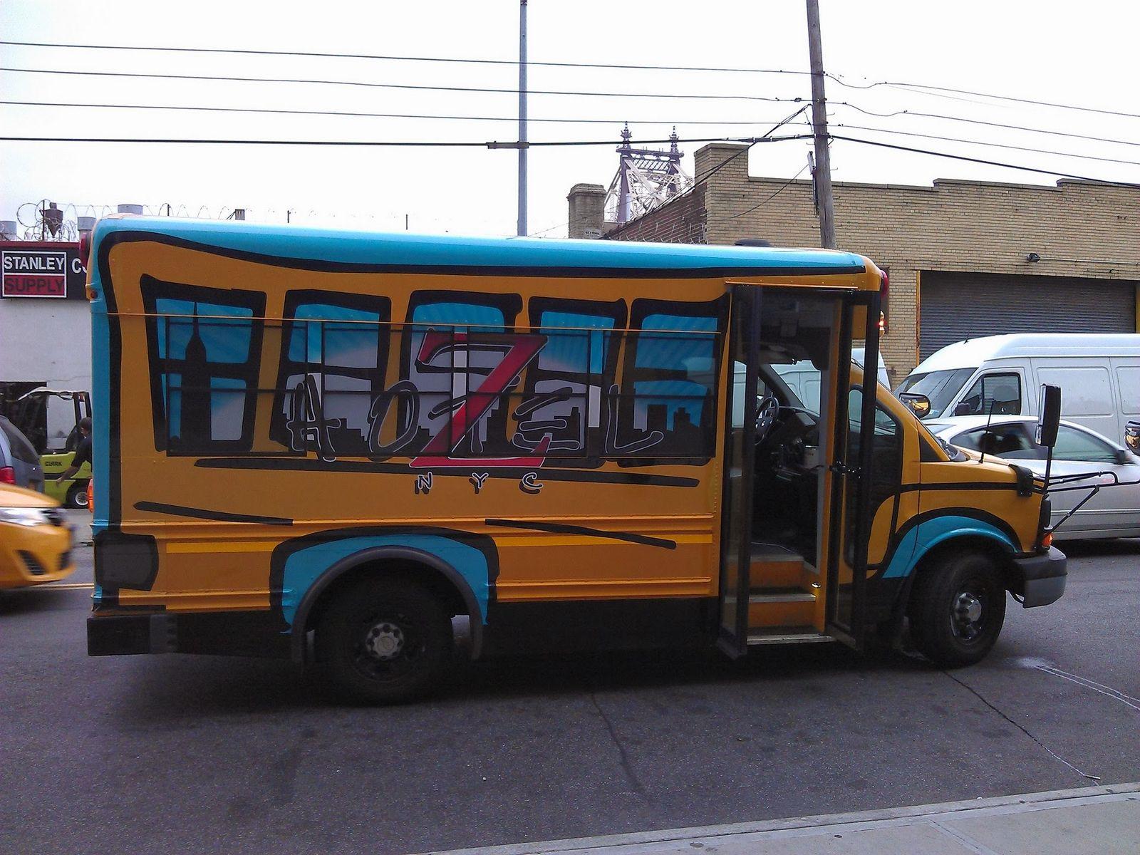 El Z Hotel NYC School Bus