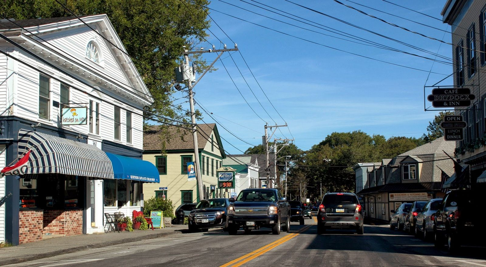 Calles de Southweast Harbor