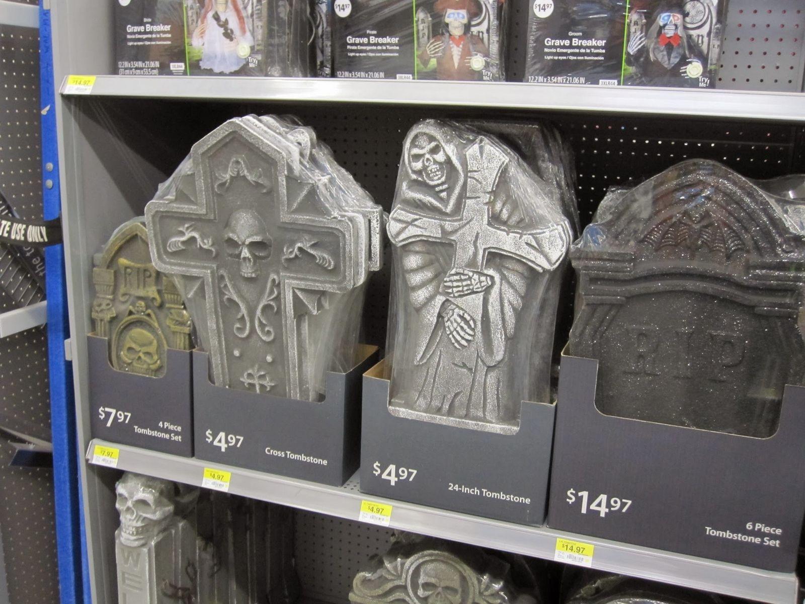 Halloween ya ha llegado al Walmart de Ellsworth