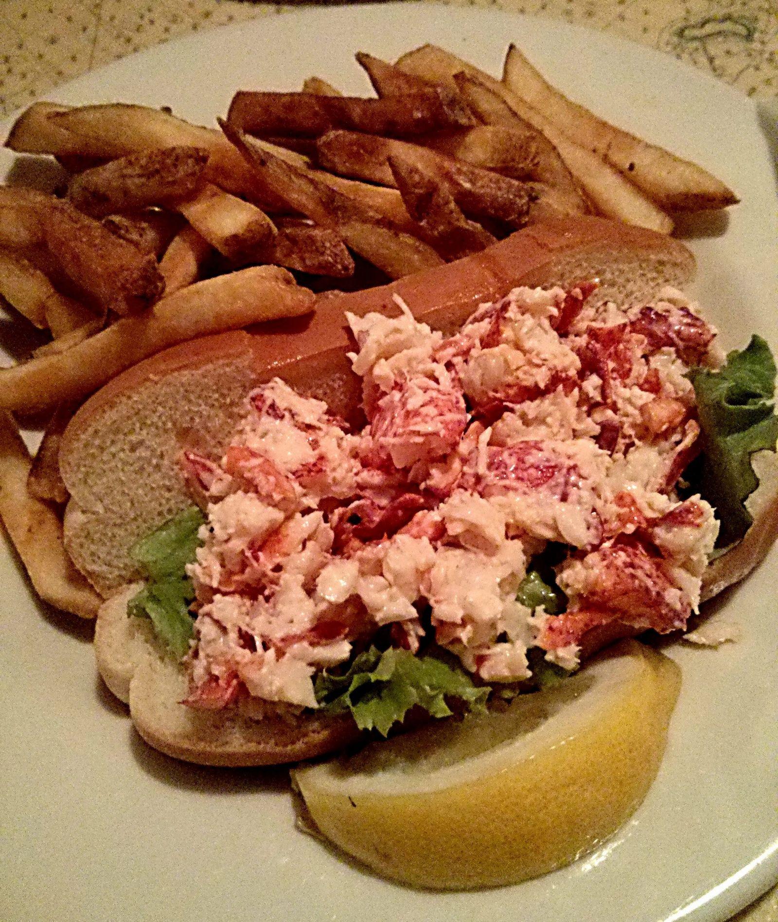Lobster roll, la decepción gastronómica de la noche
