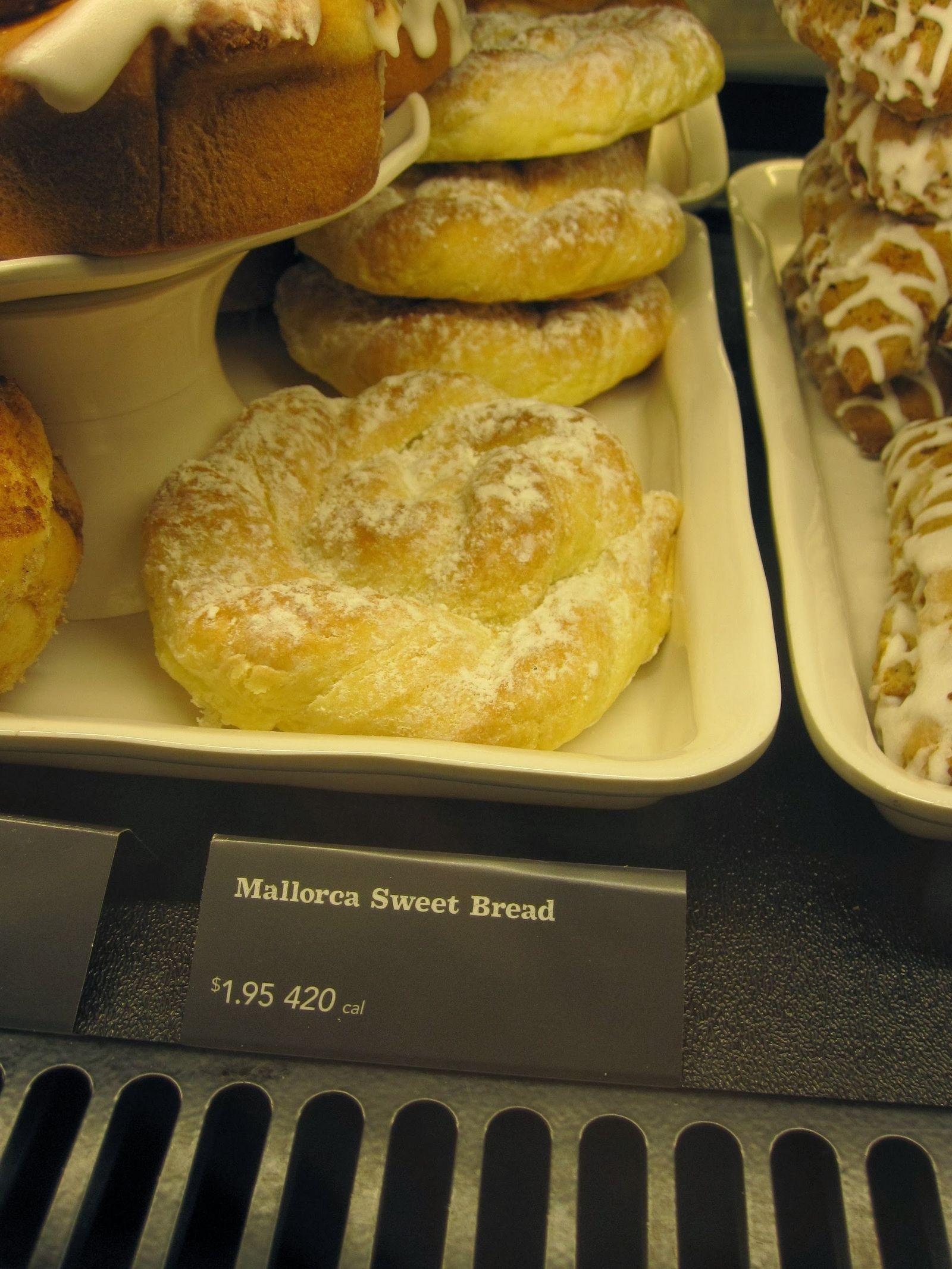 Pan dulce mallorquín, lo que vendría siendo una ensaimada