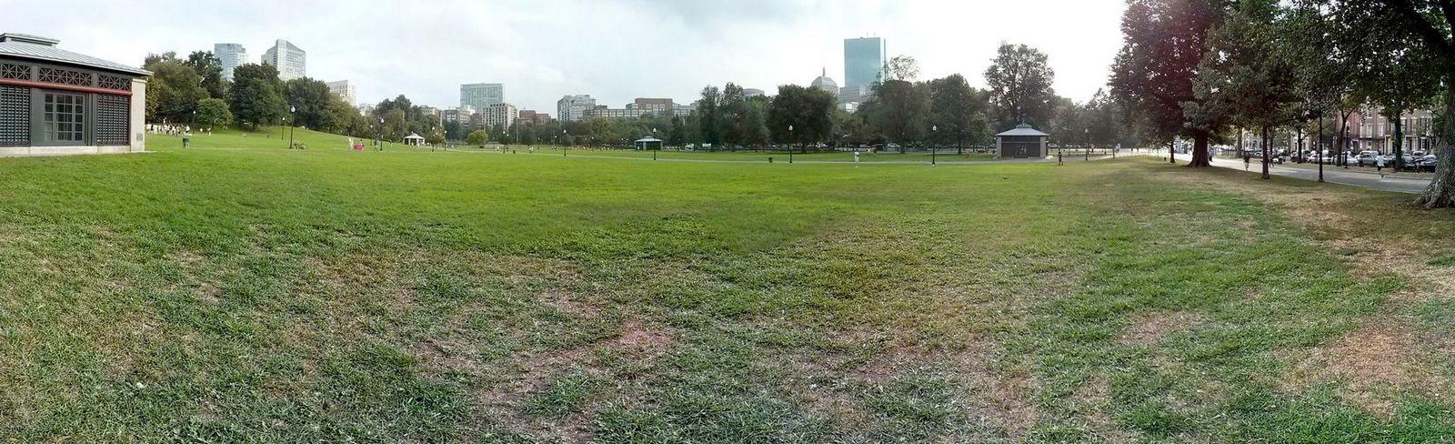Panorámica del Boston Common