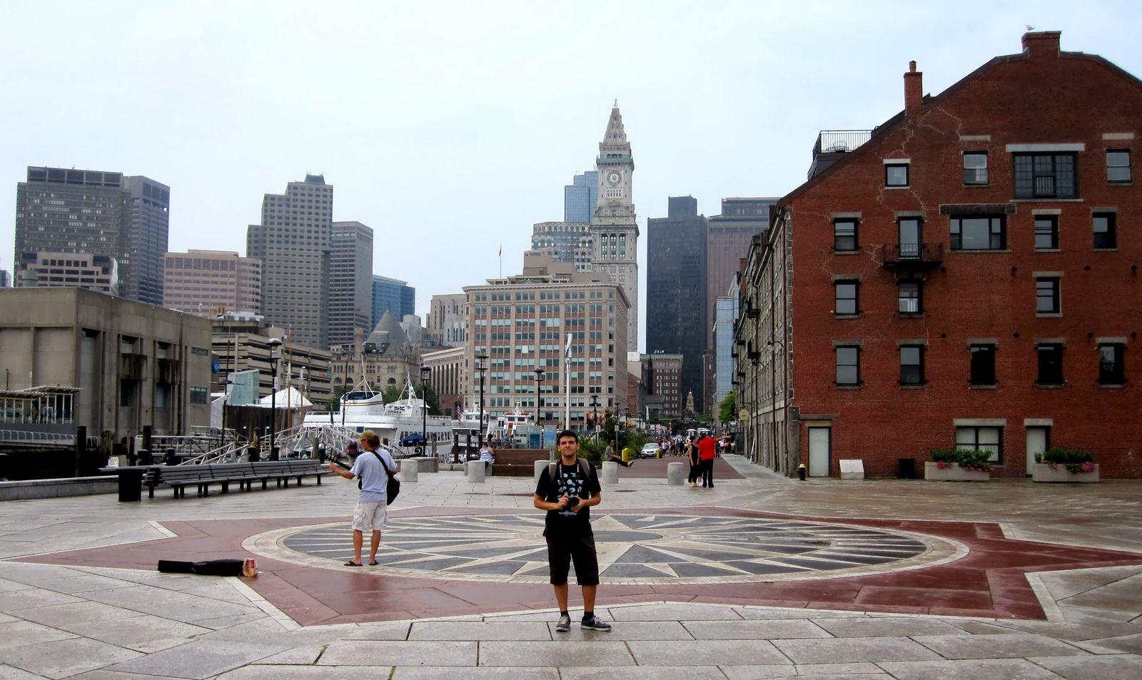 La ciudad desde el embarcadero